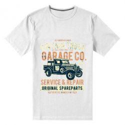 Чоловіча стрейчева футболка Vintage Truck