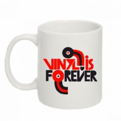 Кружка 320ml Vinyl is forever - FatLine