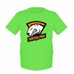 Детская футболка Virtus logo
