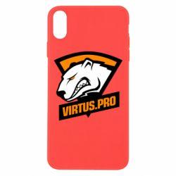 Чохол для iPhone Xs Max Virtus logo