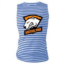 Майка-тільняшка Virtus logo