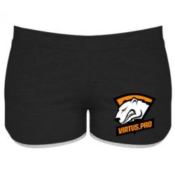Жіночі шорти Virtus logo
