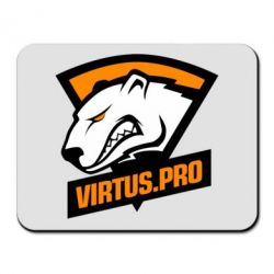 Килимок для миші Virtus logo