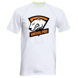 Купить Мужская спортивная футболка Virtus logo, FatLine