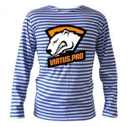 Тельняшка с длинным рукавом Virtus logo