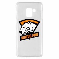Чохол для Samsung A8 2018 Virtus logo