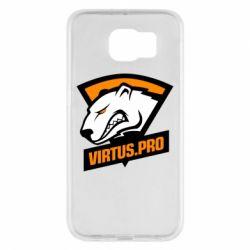 Чохол для Samsung S6 Virtus logo