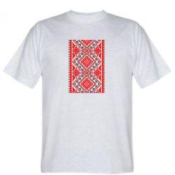 Мужская футболка Вишиванка - FatLine