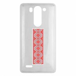 Чехол для LG G3 mini/G3s Вишиванка - FatLine