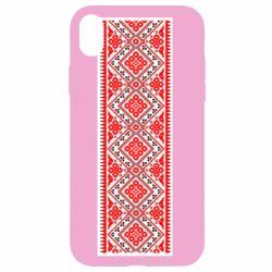 Чехол для iPhone XR Вишиванка