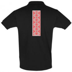 Мужская футболка поло Вишиванка