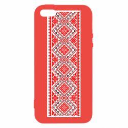 Чехол для iPhone5/5S/SE Вишиванка - FatLine