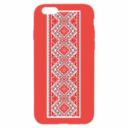 Чехол для iPhone 6/6S Вишиванка - FatLine