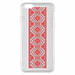 Чехол для iPhone 6 Plus/6S Plus Вишиванка - FatLine