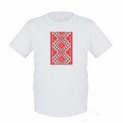Детская футболка Вишиванка - FatLine