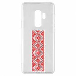 Чехол для Samsung S9+ Вишиванка - FatLine
