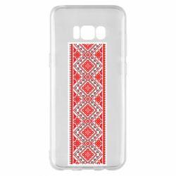 Чехол для Samsung S8+ Вишиванка - FatLine