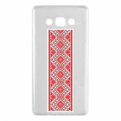 Чехол для Samsung A7 2015 Вишиванка - FatLine