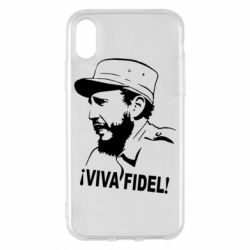 Чехол для iPhone X Viva Fidel - FatLine