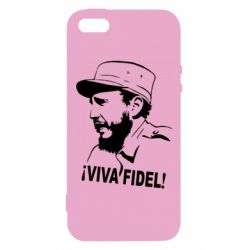 Чехол для iPhone5/5S/SE Viva Fidel - FatLine