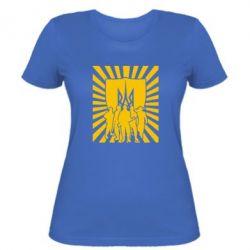 Женская футболка Військо українське - FatLine