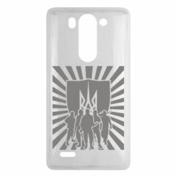 Чехол для LG G3 mini/G3s Військо українське - FatLine