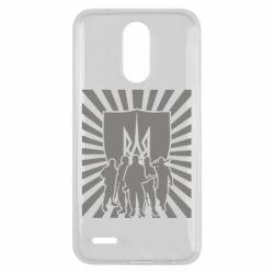 Чехол для LG K10 2017 Військо українське - FatLine
