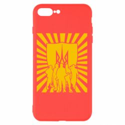 Чехол для iPhone 8 Plus Військо українське - FatLine