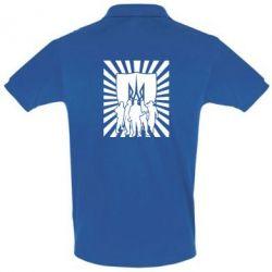 Футболка Поло Військо українське - FatLine