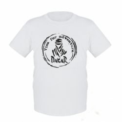 Дитяча футболка Віза на дакар