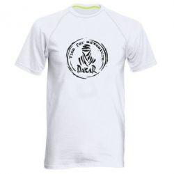 Чоловіча спортивна футболка Віза на дакар