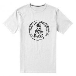 Чоловіча стрейчева футболка Віза на дакар