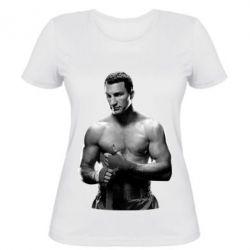 Женская футболка Владимир Кличко