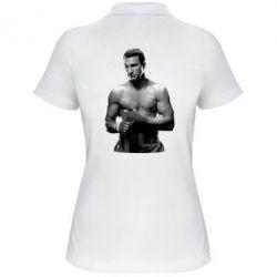 Женская футболка поло Владимир Кличко