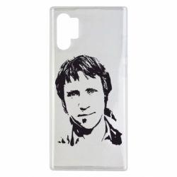 Чехол для Samsung Note 10 Plus Владимир Высоцкий портрет