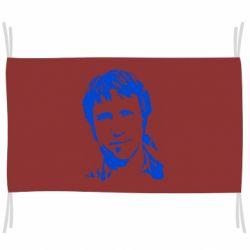 Флаг Владимир Высоцкий портрет