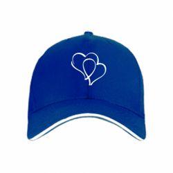 кепка Влюбленные сердца - FatLine