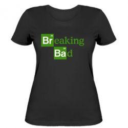 Женская футболка Во все тяжкие (Breaking Bad) - FatLine