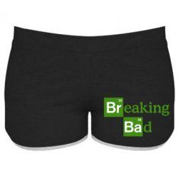 Женские шорты Во все тяжкие (Breaking Bad) - FatLine