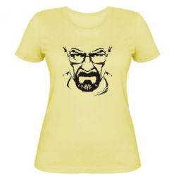 Женская футболка Во все тяжкие (Уолтер) - FatLine