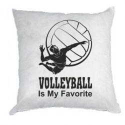 Подушка Волейбол Is my favorite