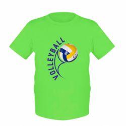 Детская футболка Волейбол