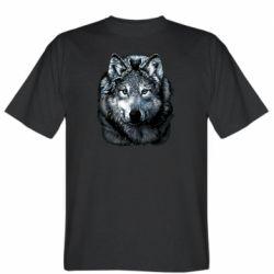 Чоловіча футболка Вовк гравюра