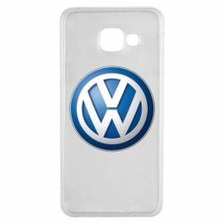 Чохол для Samsung A3 2016 Volkswagen 3D Logo
