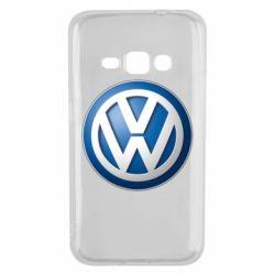 Чохол для Samsung J1 2016 Volkswagen 3D Logo