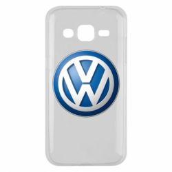Чохол для Samsung J2 2015 Volkswagen 3D Logo