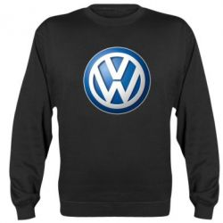 Реглан (свитшот) Volkswagen 3D Logo - FatLine