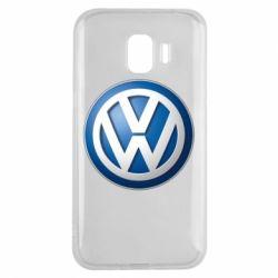Чохол для Samsung J2 2018 Volkswagen 3D Logo