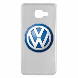 Чохол для Samsung A7 2016 Volkswagen 3D Logo