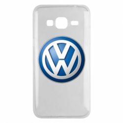 Чохол для Samsung J3 2016 Volkswagen 3D Logo
